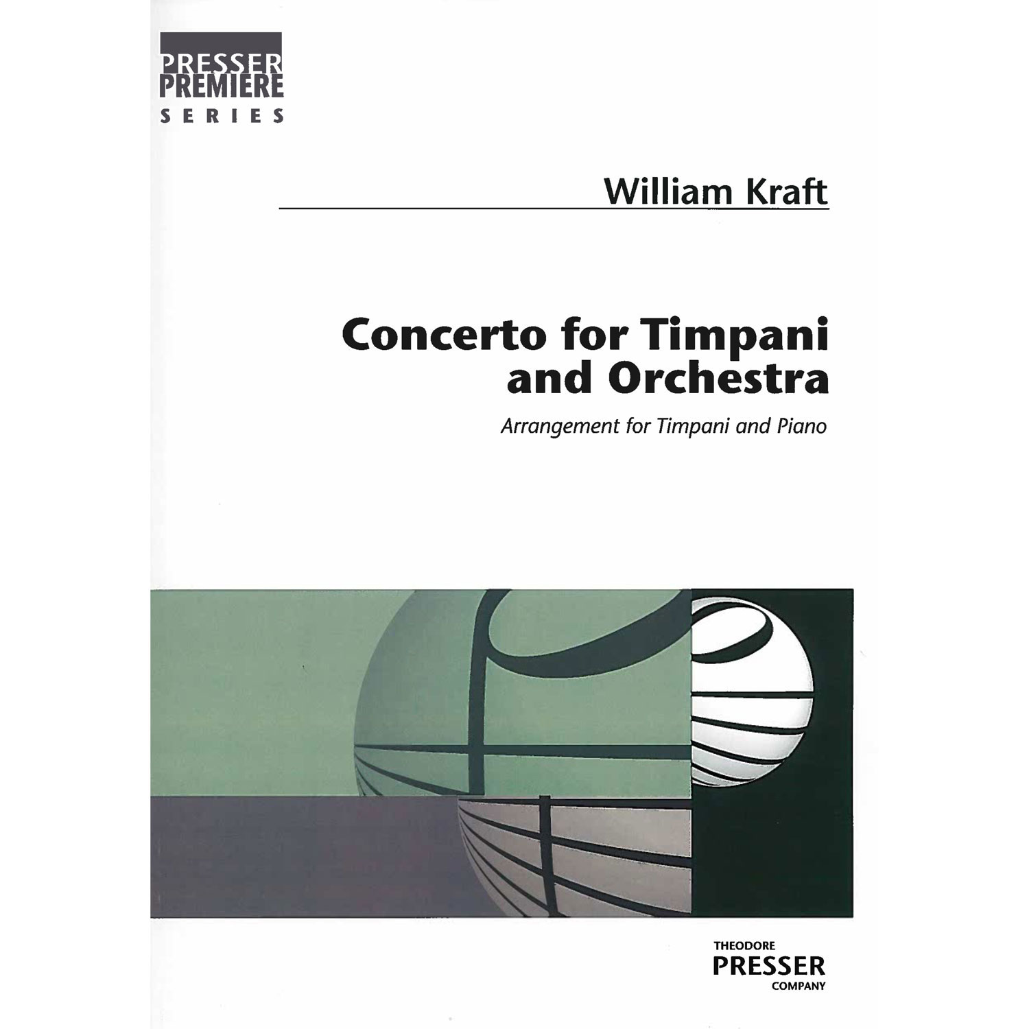 Original Version of Concerto for Timpani & Orchestra by William Kraft (Piano Reduction)