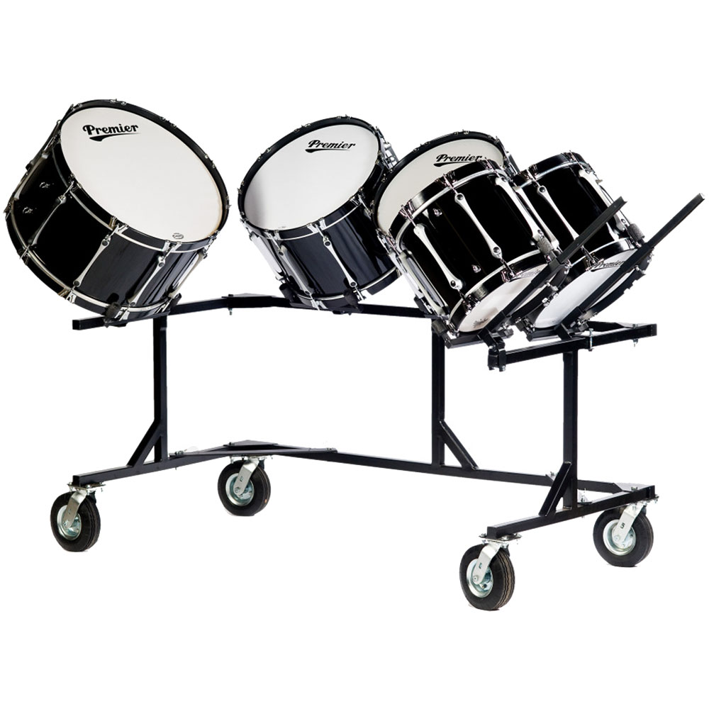 Titan Multiple Bass Drum Rack Field Frame (Fits 5 Drums)