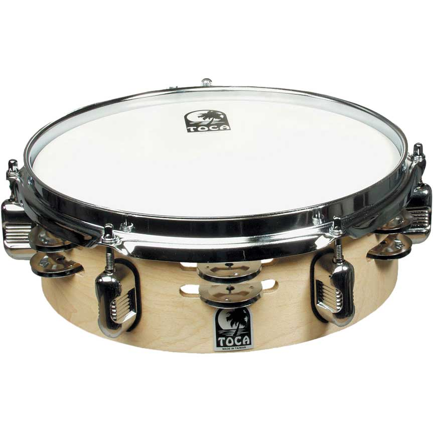 "Toca 10"" Jingle Snare with Gibraltar Mount"