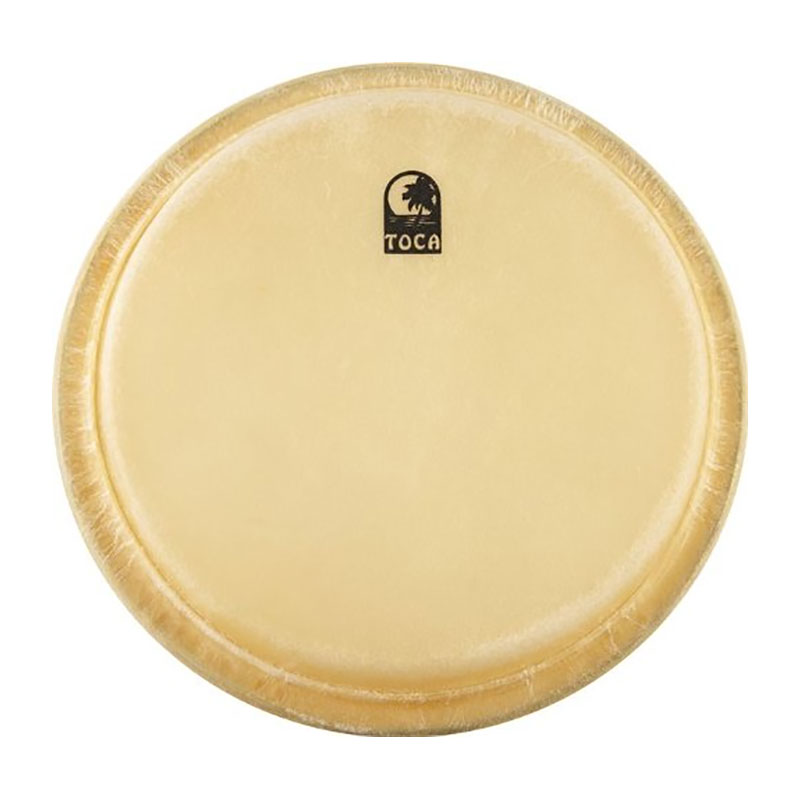 "Toca 7"" Synergy Wood Rawhide Bongo Drum Head"