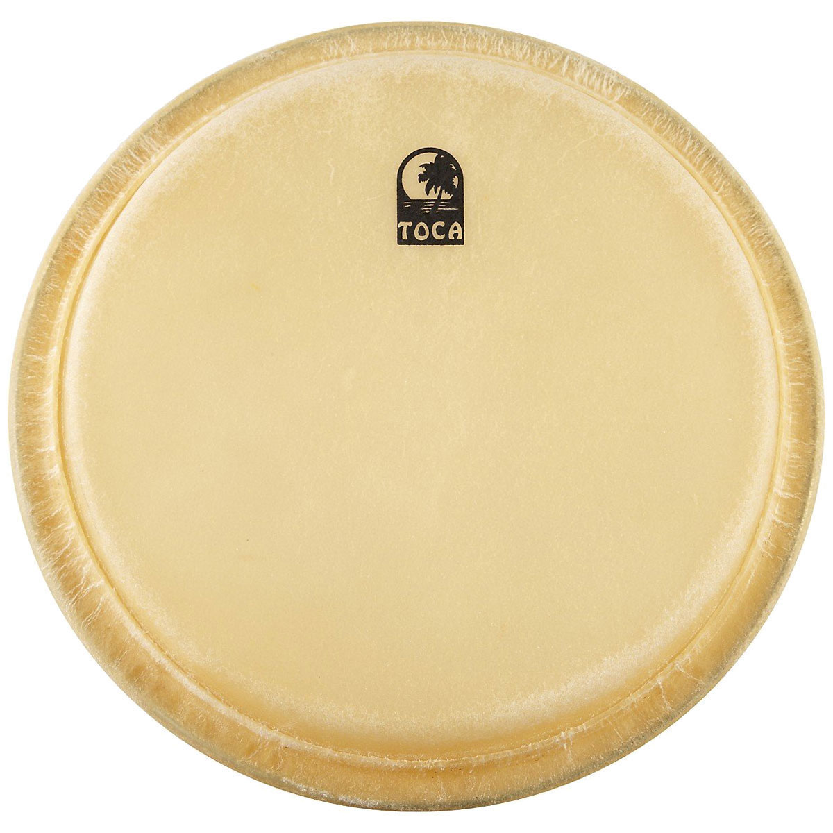 "Toca 7"" Elite Pro Wood Rawhide Bongo Drum Head"