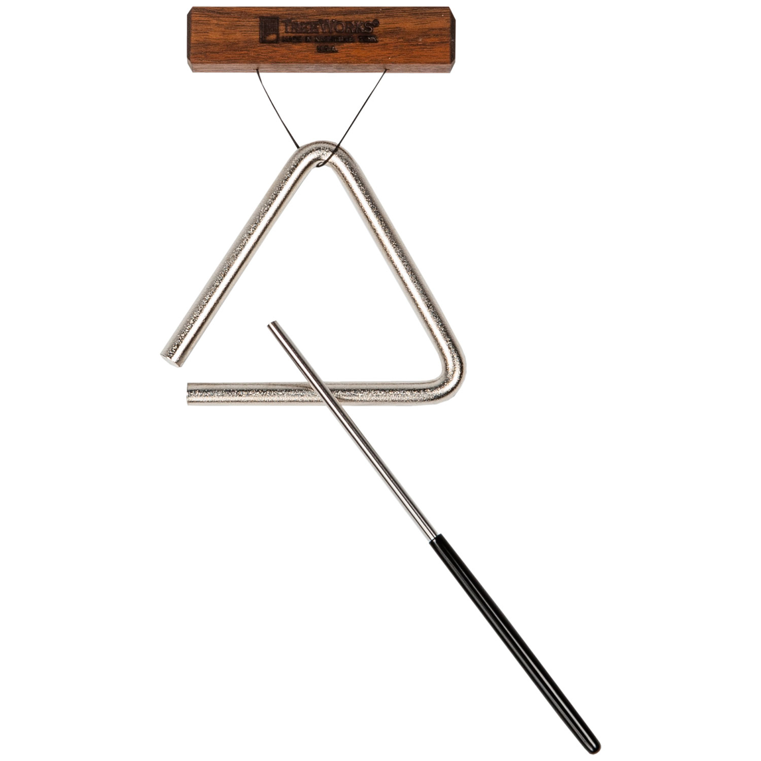 "TreeWorks 4"" Triangle with Beater & Holder"