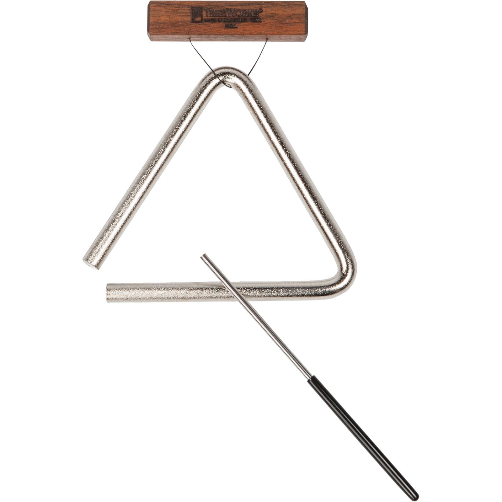"TreeWorks 6"" Triangle with Beater & Holder"