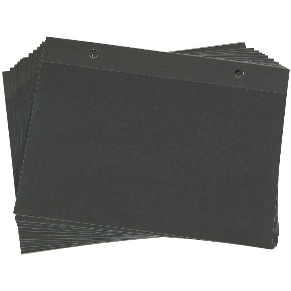 Trophy Pages for Flip Folder - 12 Pack