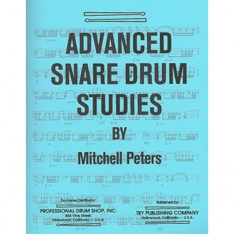 Advanced Snare Drum Studies by Mitchell Peters