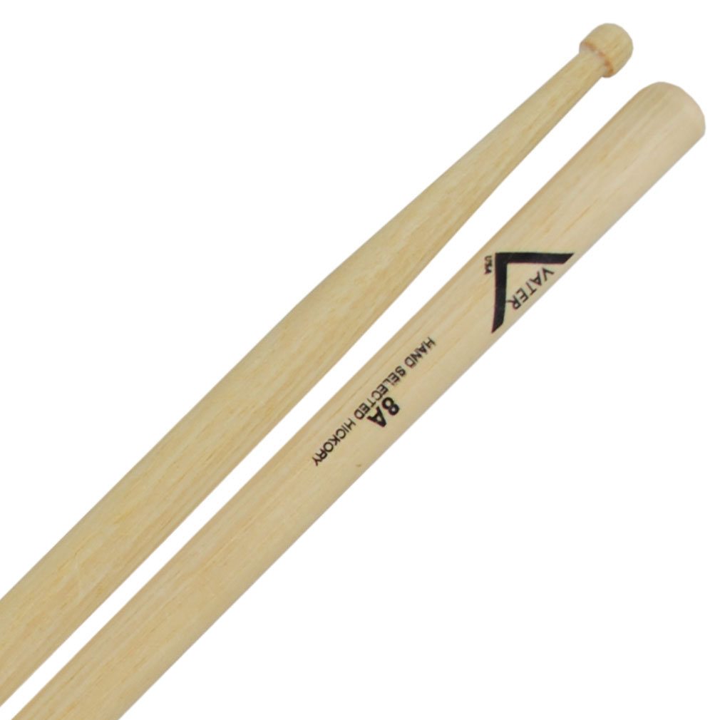 Vater 8A Wood Tip Drum Sticks