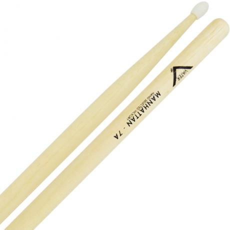 Vater American Hickory 7A Manhattan Nylon Tip Drumsticks