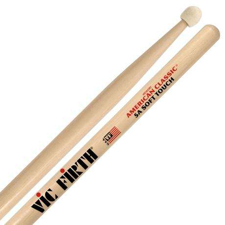 Vic Firth American Classic Soft Touch 5A Drumsticks