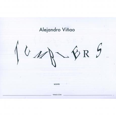 Tumblers by Alejandro Vinao (Score & Instrument Parts)