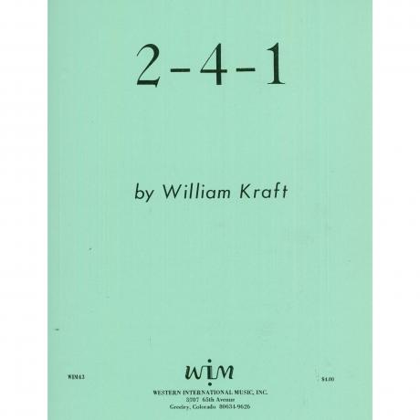 2-4-1 by William Kraft