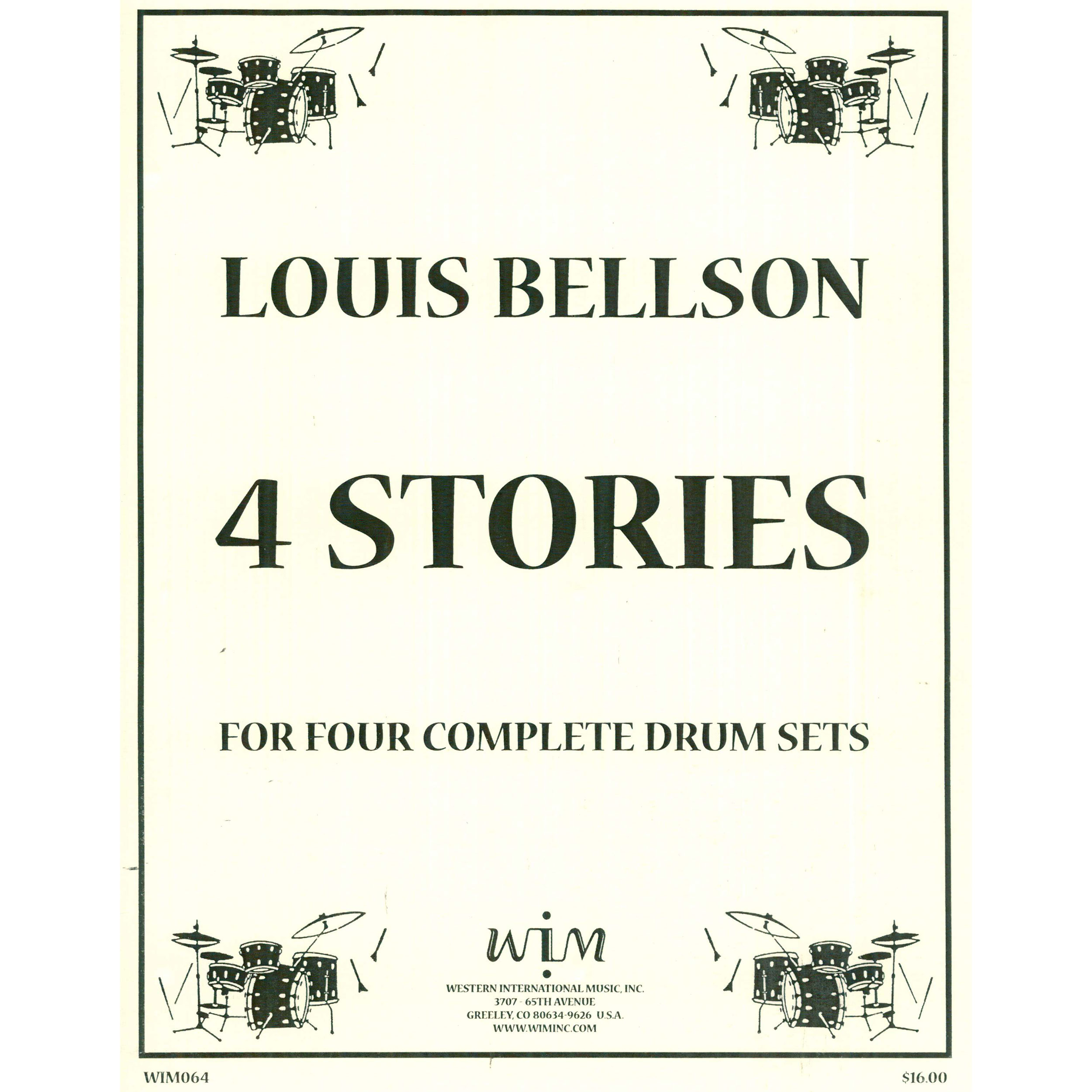 4 Stories (Four Stories) by Louis Bellson