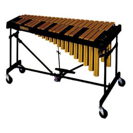 Yamaha 3 Octave Gold Tour Vibraphone with Cover
