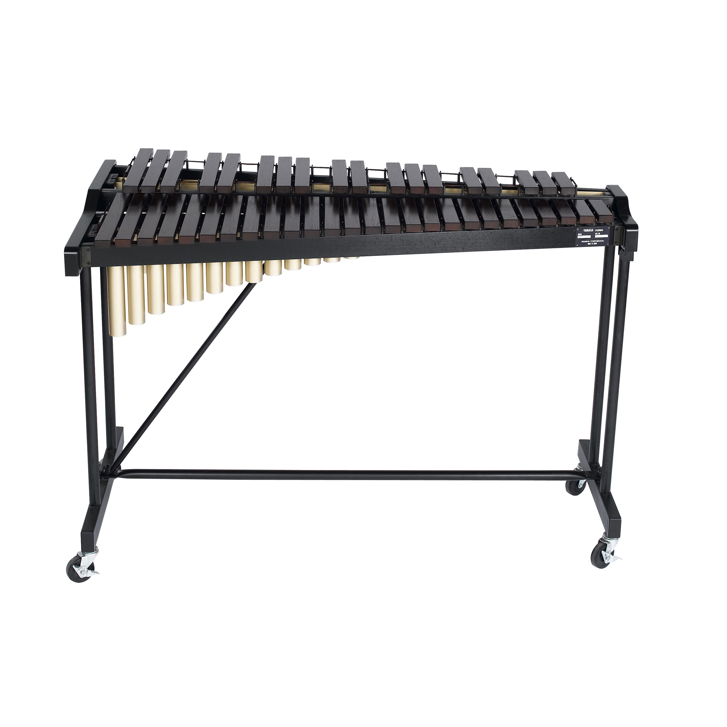 Yamaha 3 5 octave standard padouk xylophone with cover yx135c for Yamaha 3 octave keyboard