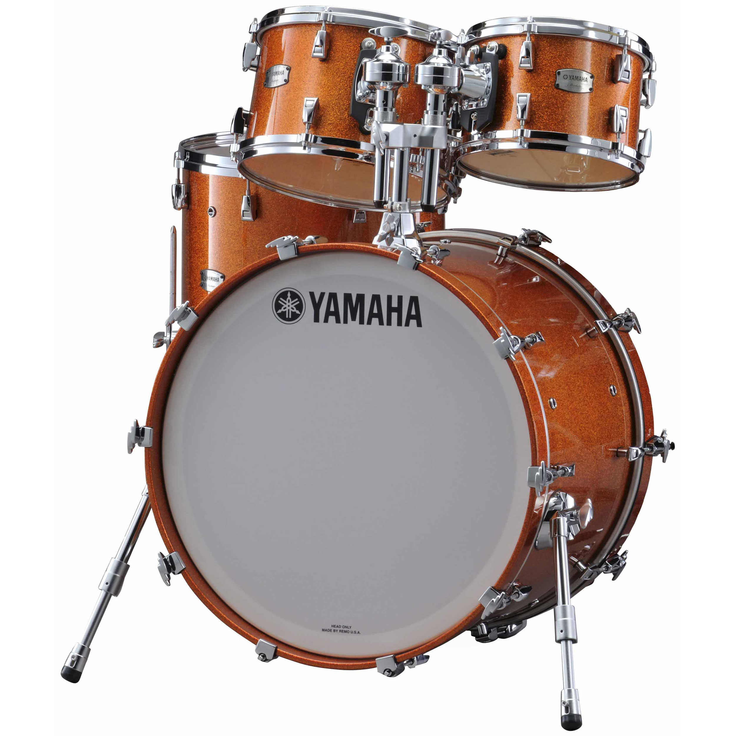 "Yamaha Absolute Hybrid Maple 4-Piece Drum Set Shell Pack (22"" Bass, 10/12/16"" Toms)"