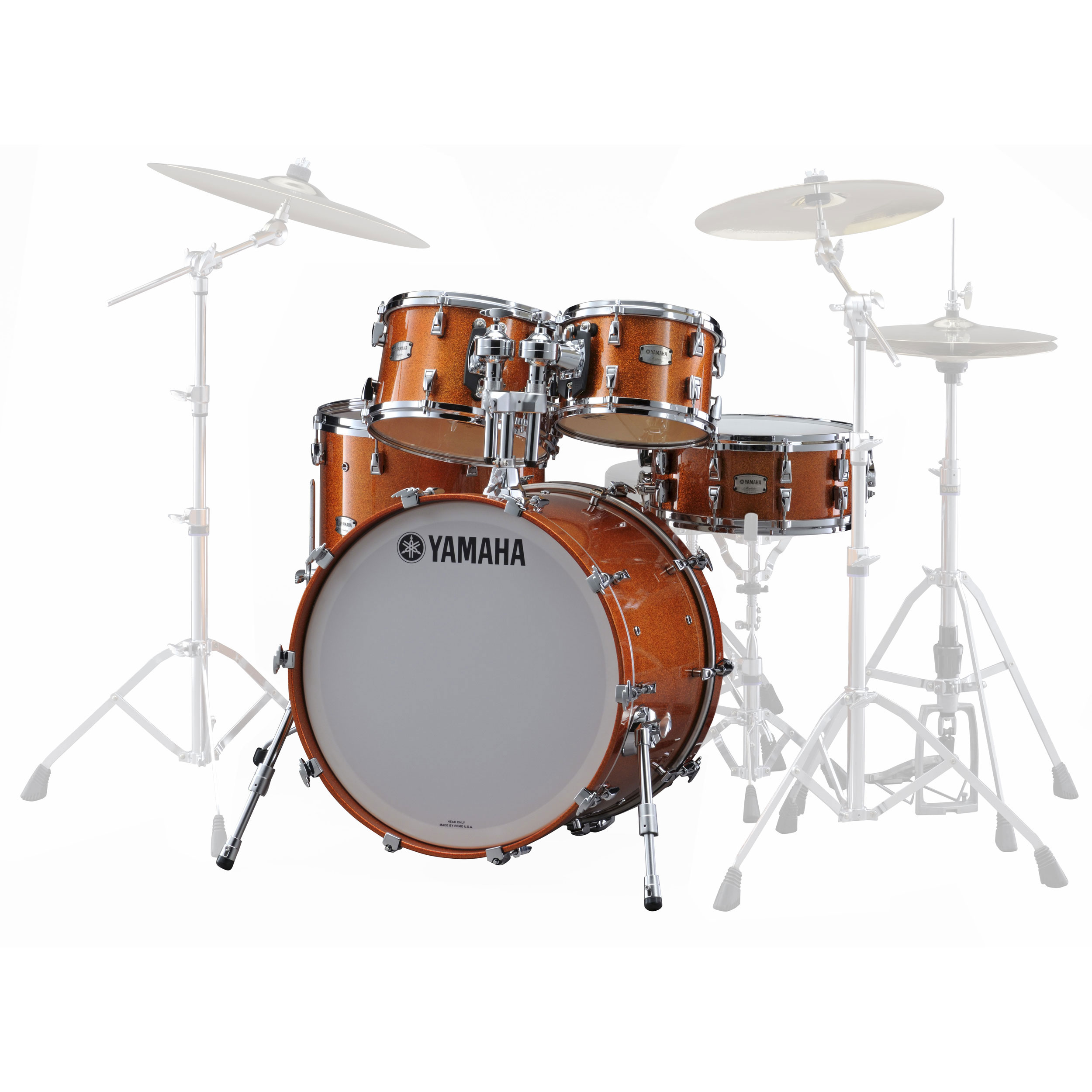 "Yamaha Absolute Hybrid Maple 5-Piece Drum Set Shell Pack (22"" Bass, 10/12/14/16"" Toms)"