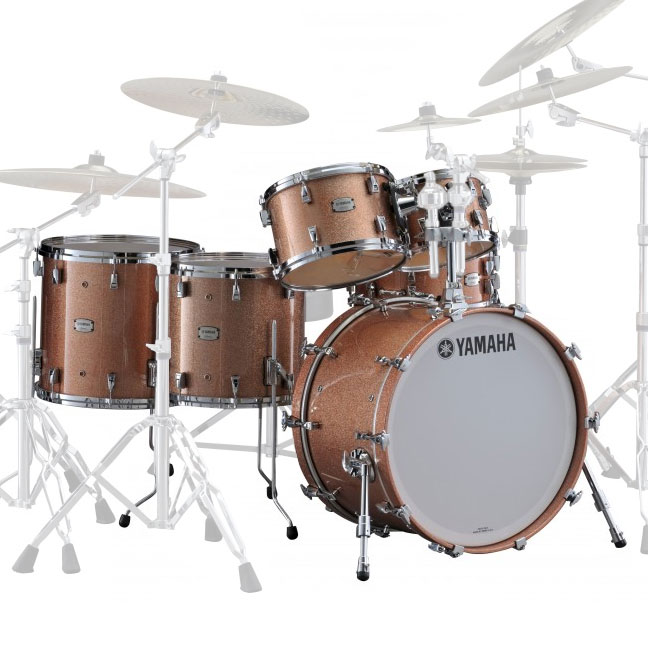 Main image for yamaha absolute hybrid maple 6 piece drum for Yamaha bass drum decal