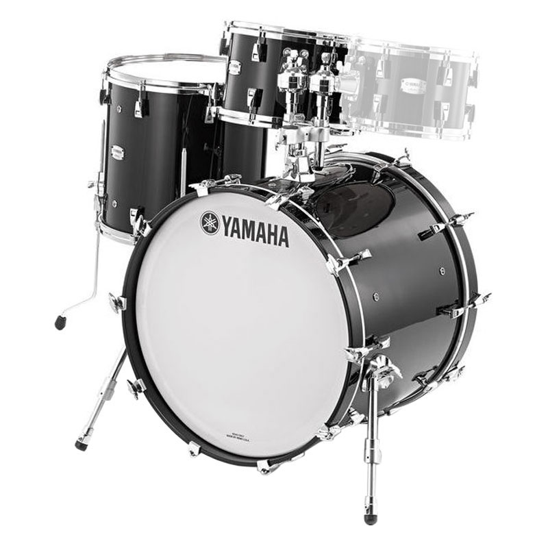 "Yamaha Absolute Hybrid Maple 3-Piece Drum Set Shell Pack (18"" Bass, 12/14"" Toms)"