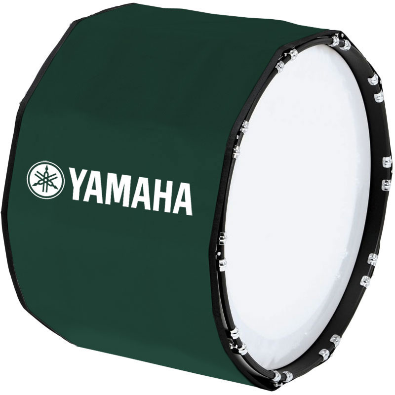 "Yamaha 22"" Custom Color Marching Bass Cover"