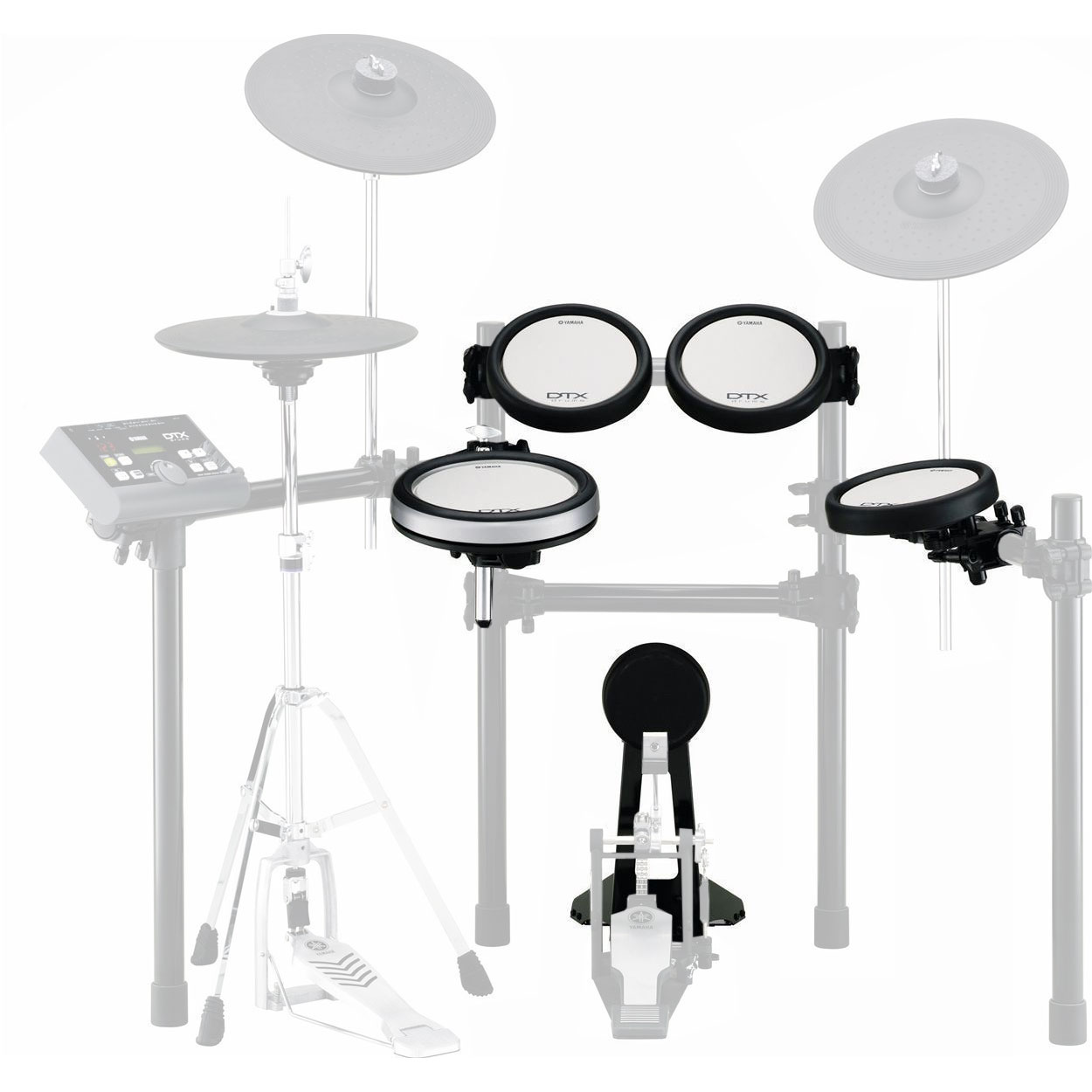 Yamaha drum pad set for dtx700k 560k electronic drum sets for Yamaha drum pads