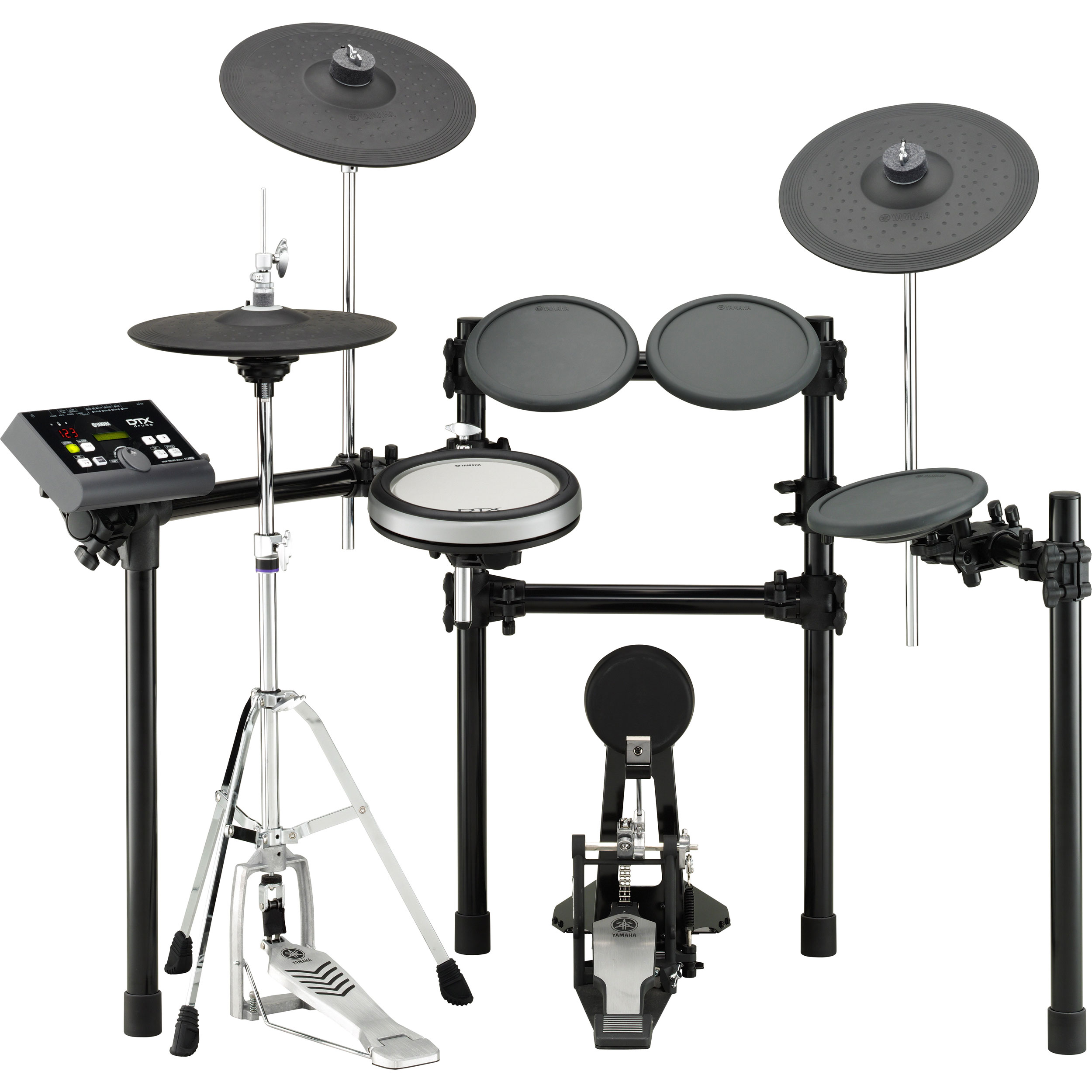 Yamaha dtx500 series electronic drum set xp80 snare pad for Yamaha electronic drum set