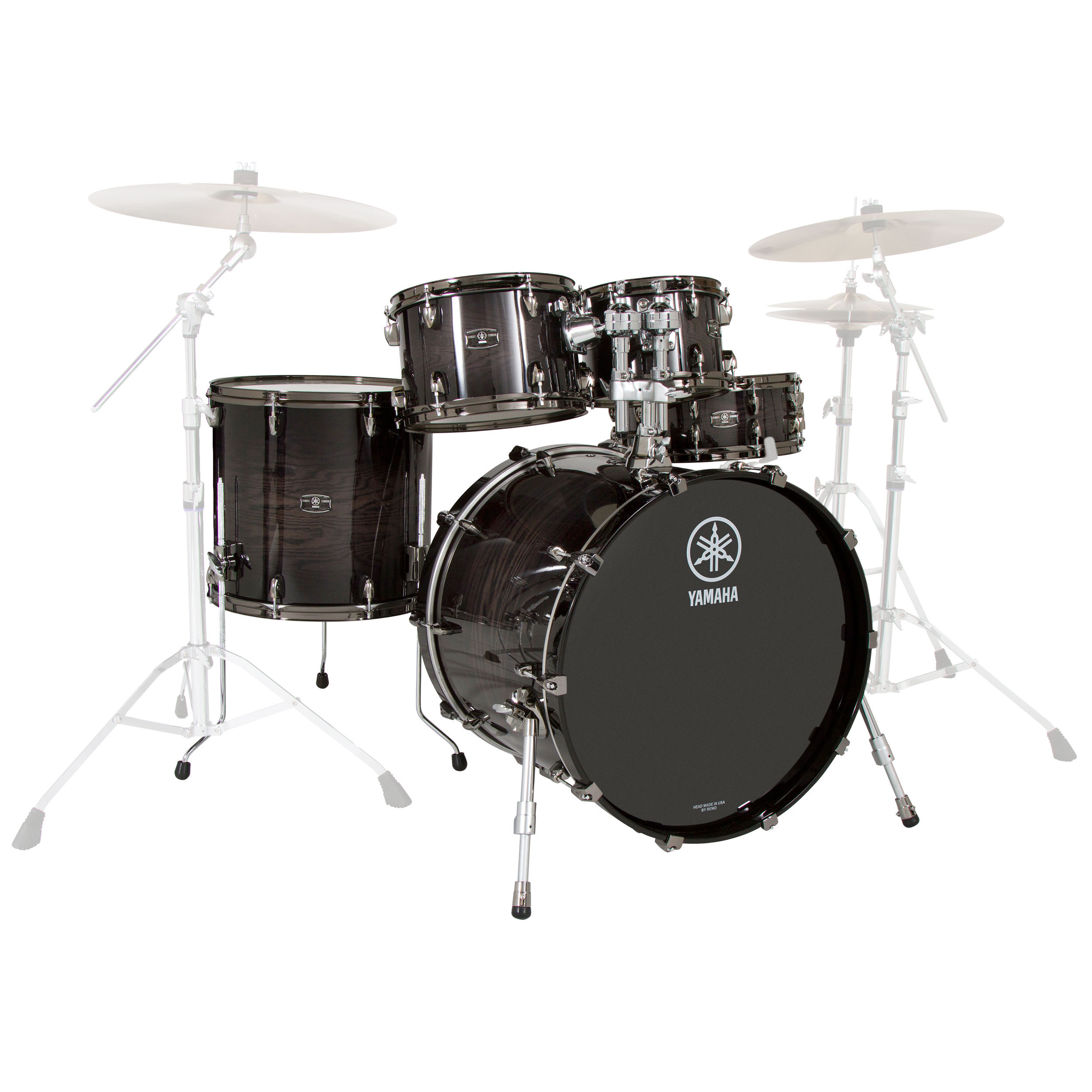 "Yamaha Live Custom 5-Piece Drum Set Shell Pack (22"" Bass, 10/12/16"" Toms, 14"" Snare)"