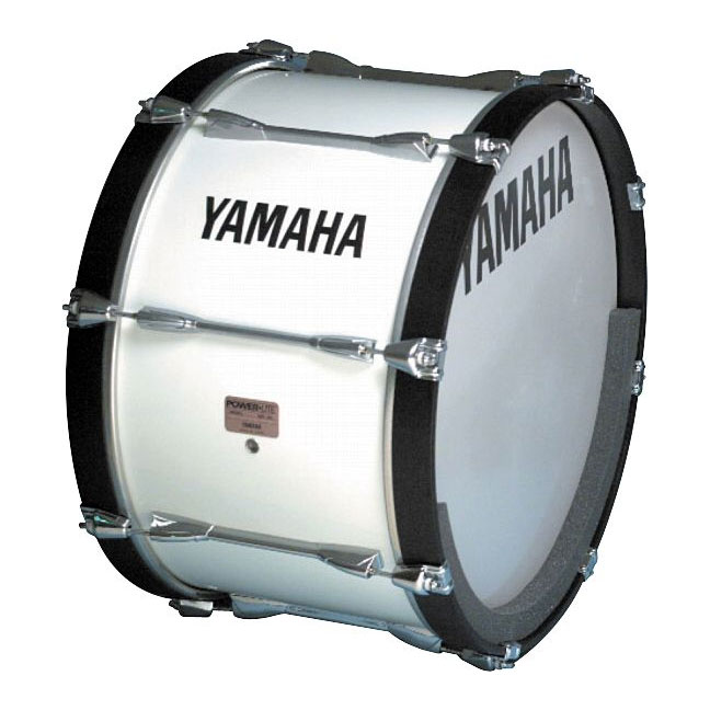 "Yamaha 28"" Power-Lite Marching Bass Drum"