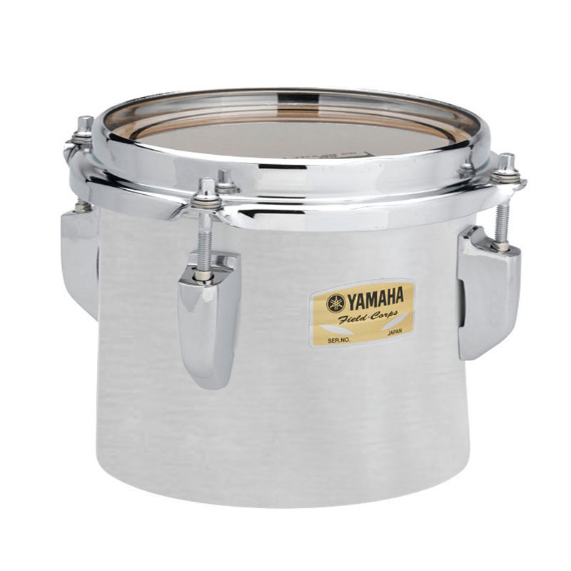 "Yamaha 12"" 8200 Field-Corps Individual Marching Tenor Drum in Silky Silver (Demo)"