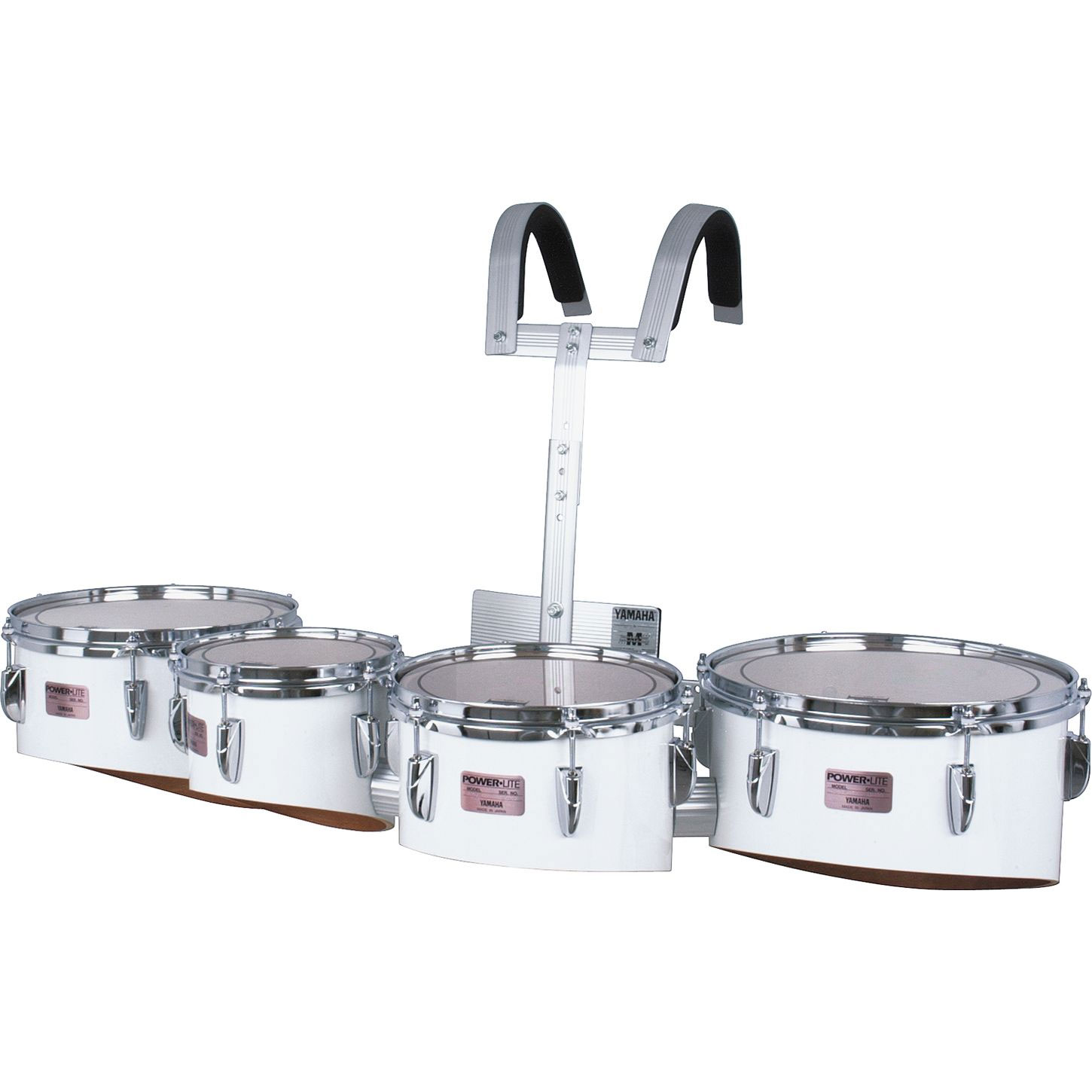"""Yamaha 8-10-12-13"""" Power-Lite Drums/Carrier/Case Marching ..."""