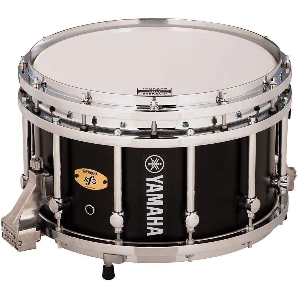 "Yamaha 14"" (Diameter) x 9"" (Deep) 9300 SFZ Piccolo Marching Snare Drum with Chrome Hardware"