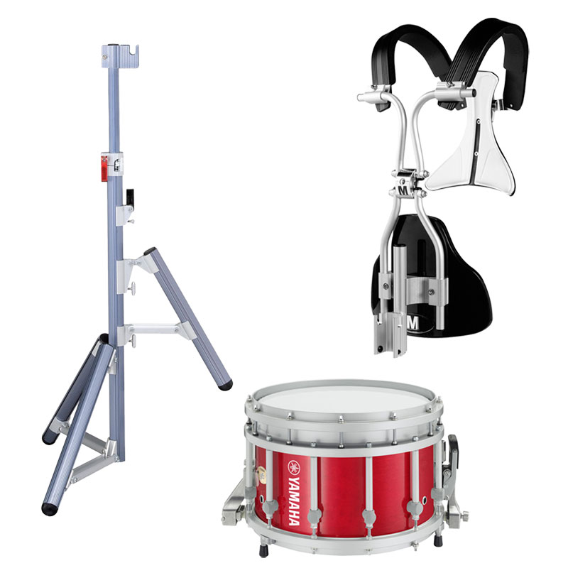 yamaha 14 x 9 9300 sfz piccolo marching snare drum with monoposto carrier and stand mss 9314ash. Black Bedroom Furniture Sets. Home Design Ideas