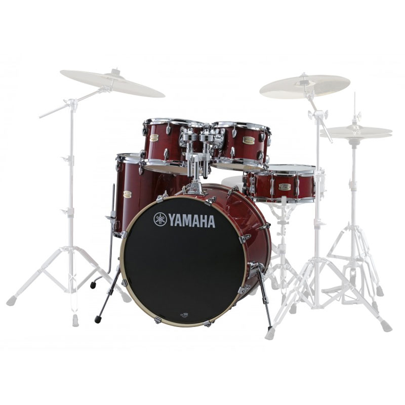 Yamaha stage custom 5 piece rock drum set shell pack 22 for Yamaha dtx450k 5 piece electronic drum kit
