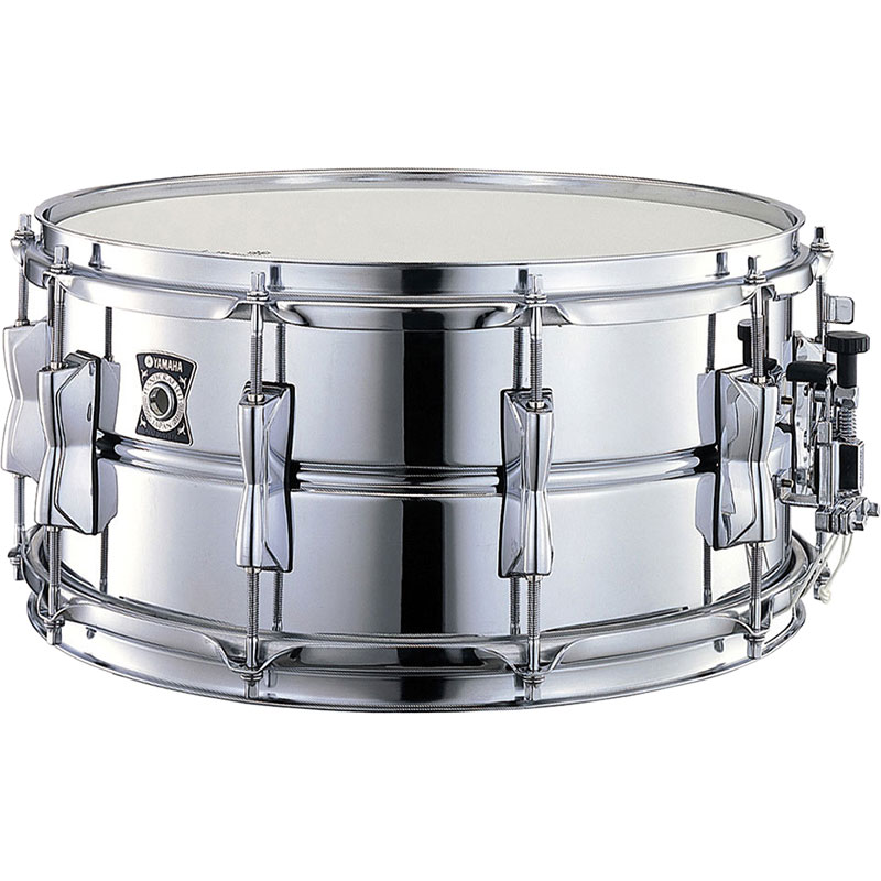 "Yamaha 14"" x 6.5"" Steel Snare Drum"