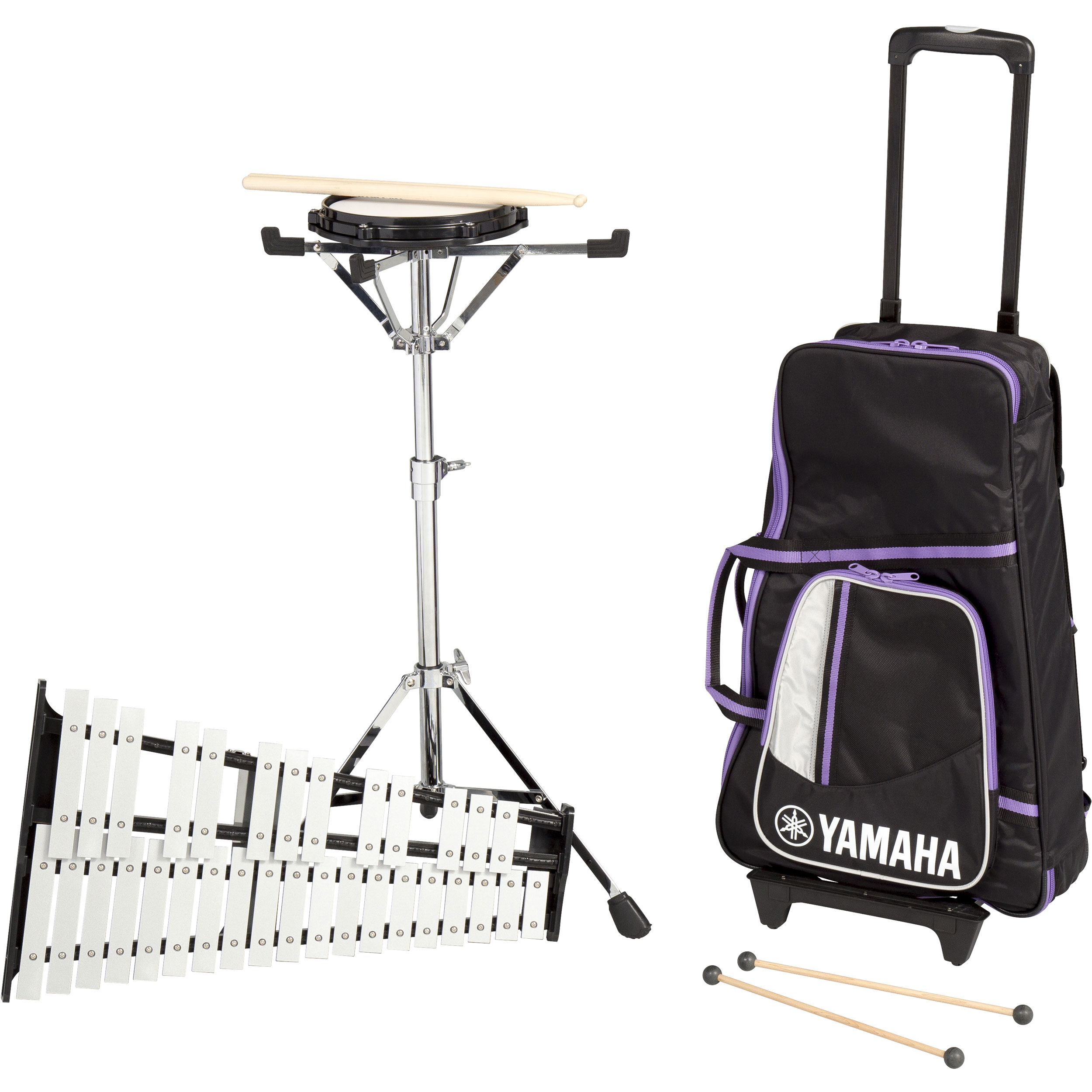 Yamaha Total Percussion Bell Kit with Rolling Cart/Backpack
