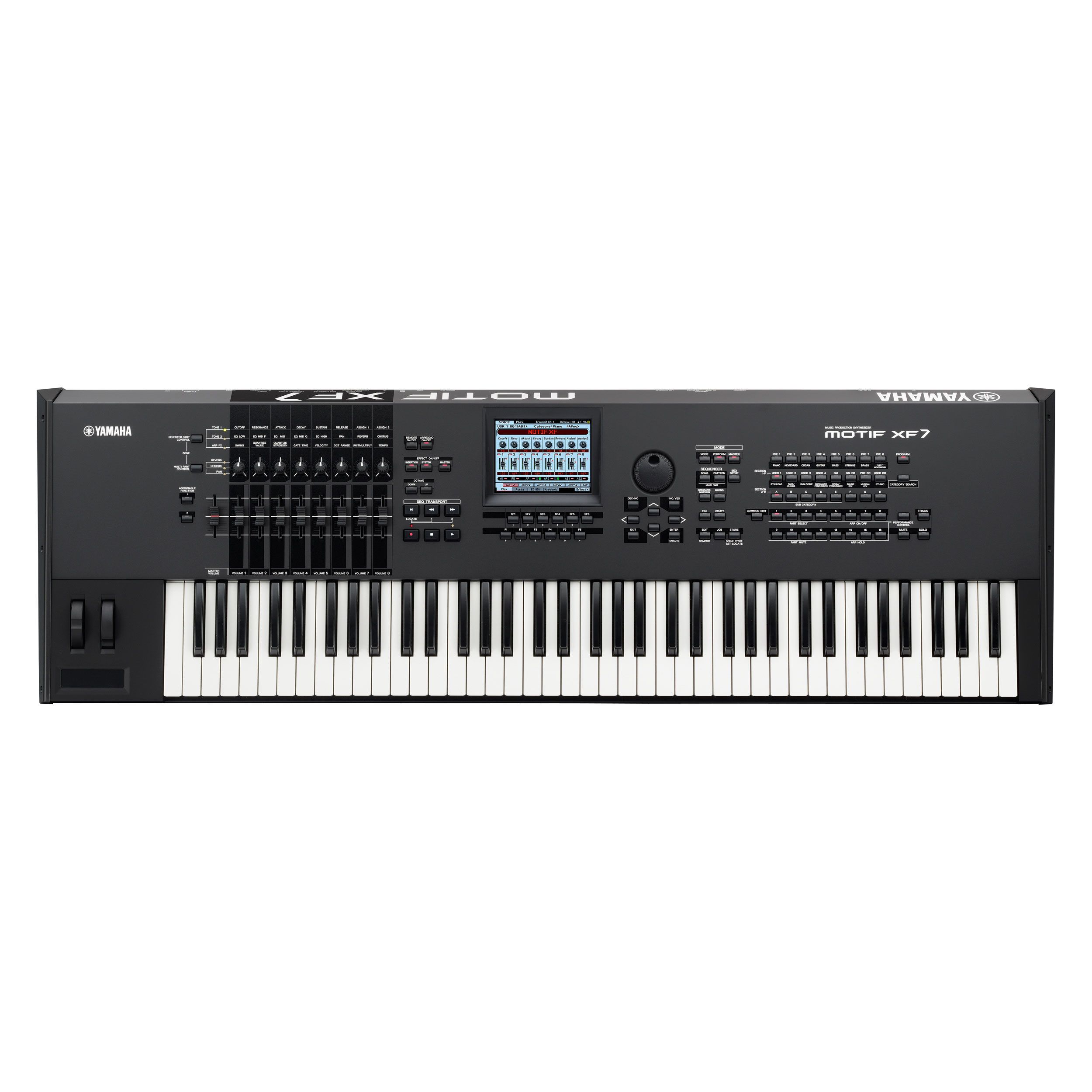 Yamaha 76-Key Synthesizer Workstation