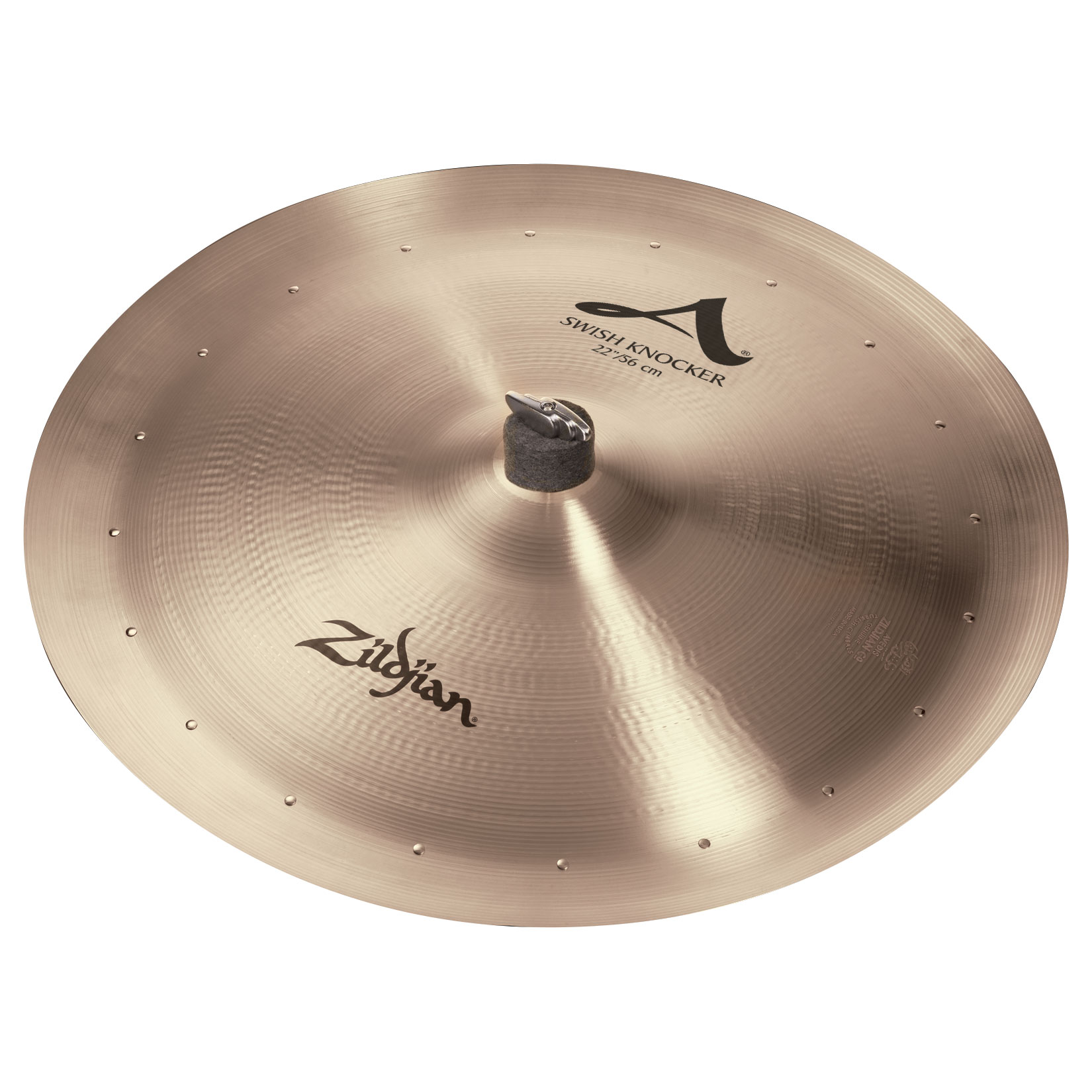 "Zildjian 22"" A Swish Knocker with 20 Rivets"