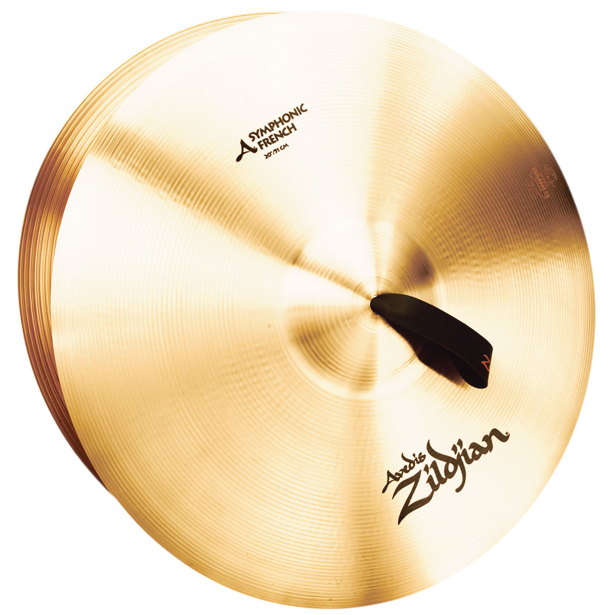 "Zildjian 20"" Symphonic French Crash Cymbal Pair"