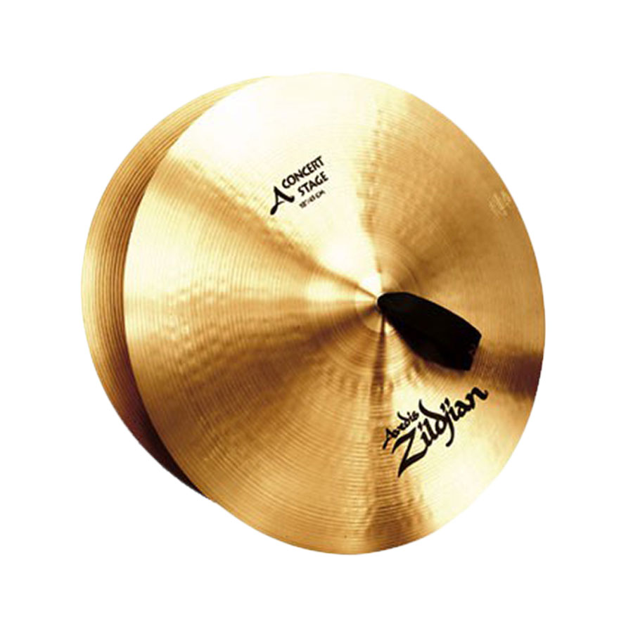 "Zildjian 18"" Concert Stage Crash Cymbal Pair"