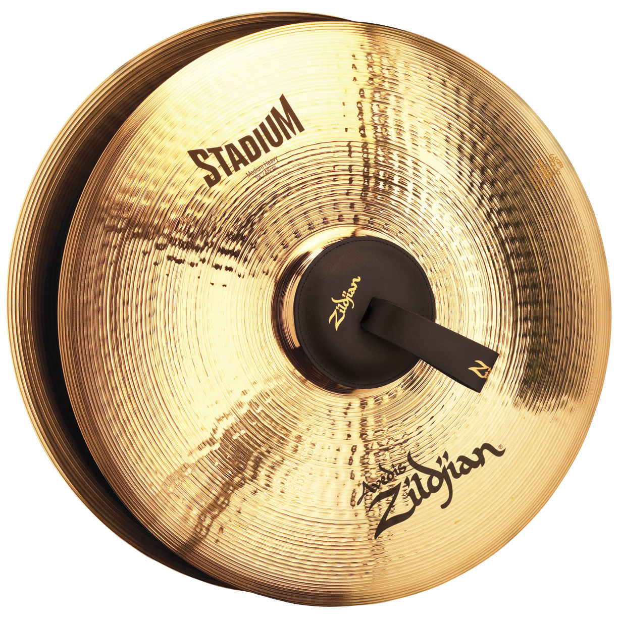 "Zildjian 19"" Stadium Medium Heavy Hand Cymbal Pair"