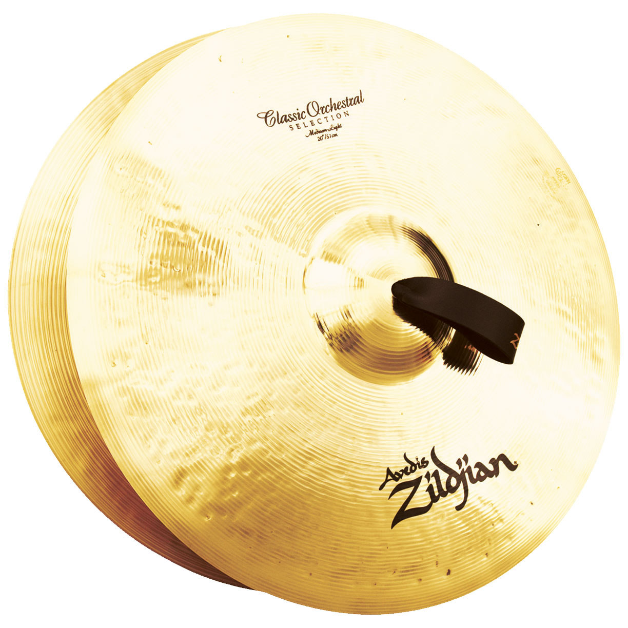 "Zildjian 20"" Classic Orchestral Medium-Light Crash Cymbal Pair"