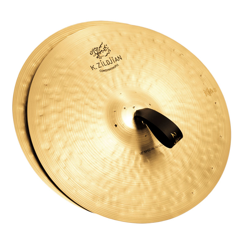 "Zildjian 18"" K Constantinople Special Selection Medium-Heavy Orchestral Crash Cymbal Pair"