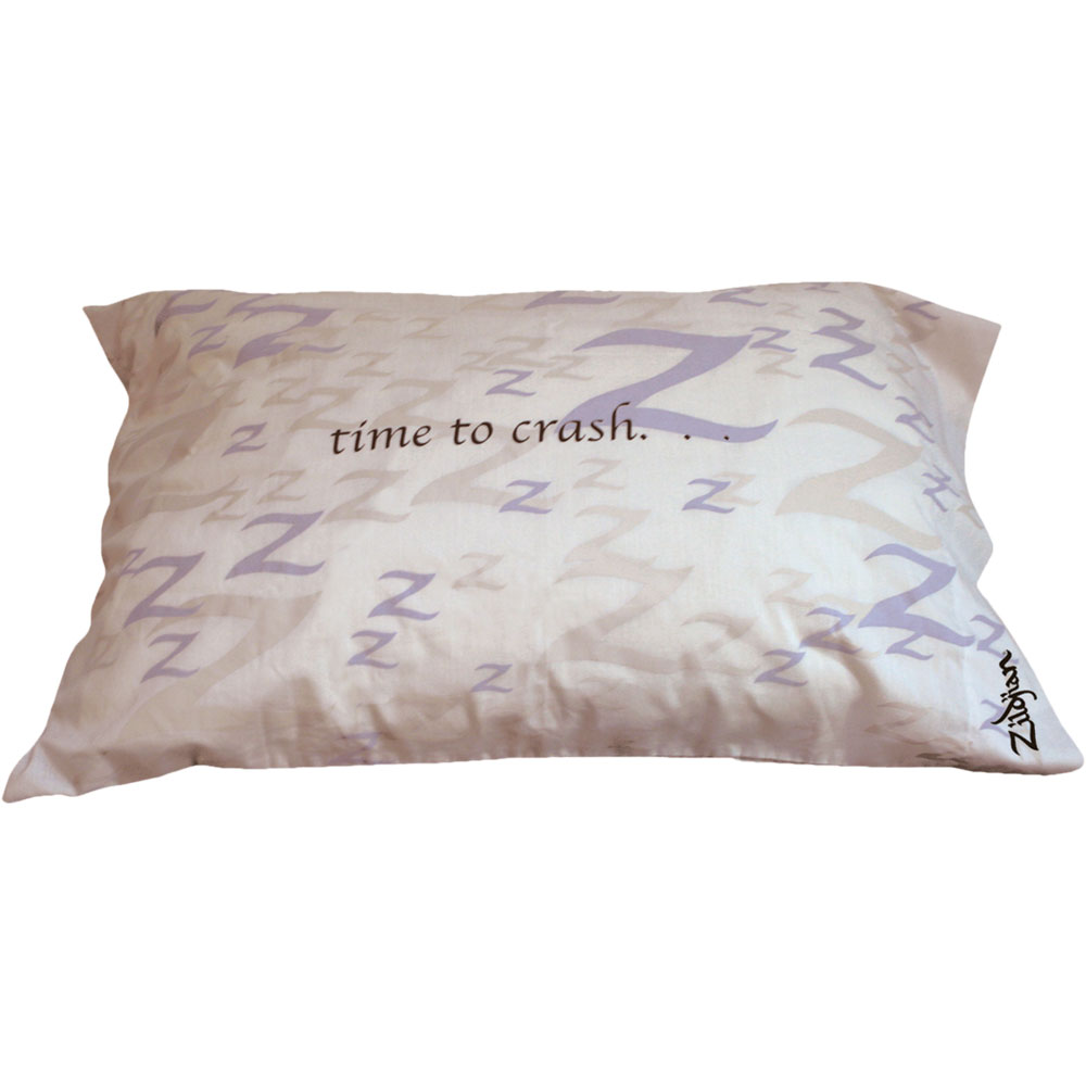 "Zildjian ""Time to Crash"" Pillowcase"