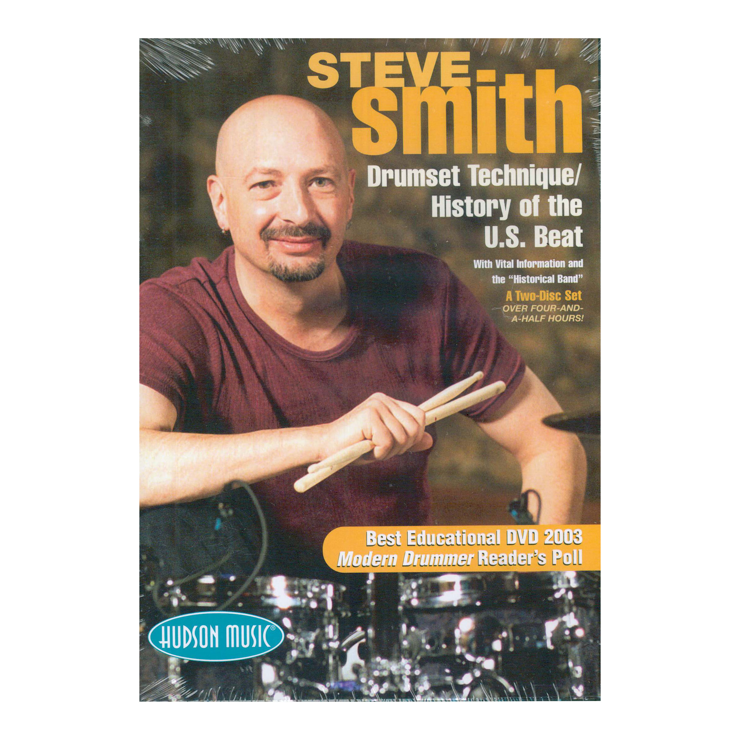 Drum Set Technique/History of US Beats DVD - Steve Smith